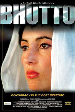 """Poster art for """"Bhutto"""""""