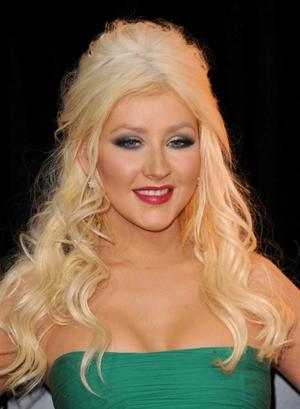 "Christina Aguilera at the California premiere of ""Burlesque."""