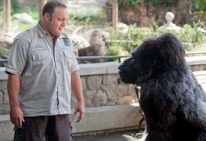 "Kevin James in ""The Zookeeper."""