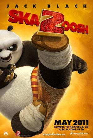 "Poster art for ""Kung Fu Panda 2: The Kaboom of Doom."""
