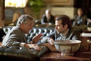 """Robert De Niro and Bradley Cooper in """"Limitless."""""""