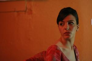 "Monia Chokri as Marie in ""Heartbeats."""