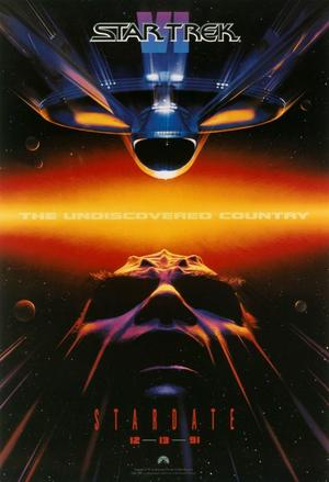 "Poster art for ""Star Trek VI: The Undiscovered Country."""