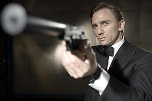 "Daniel Craig as James Bond in ""Casino Royale."""