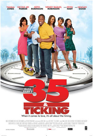 "Poster art for ""35 and Ticking."""
