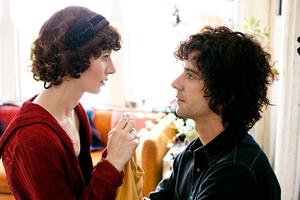 "Miranda July as Sophie and Hamish Linklater as Jason in ""The Future."""