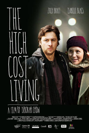 """Poster art for """"The High Cost of Living."""""""