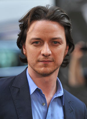 "James McAvoy at the New York premiere of ""X-Men: First Class."""
