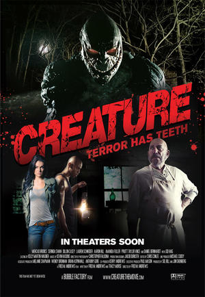 "Poster art for ""Creature."""