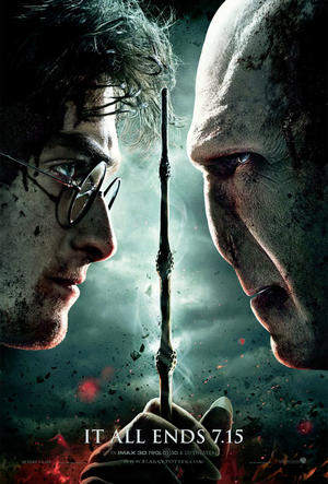 "Poster art for ""Harry Potter and the Deathly Hallows Part 2: The IMAX Experience."""