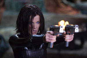 "Kate Beckinsale as Selene in ""Underworld: Awakening."""