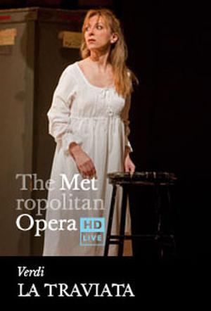 "Poster art for ""The Metropolitan Opera: La Traviata."""