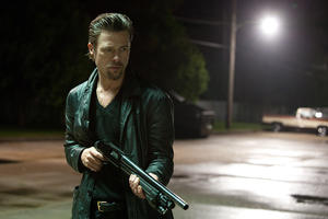 "Brad Pitt as Jackie Cogan in ""Cogan's Trade."""