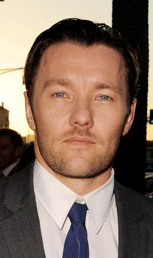 "Joel Edgerton at the California premiere of ""Warrior."""