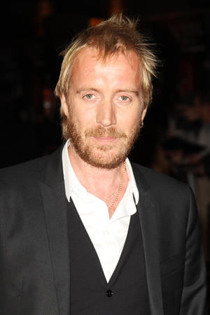 "Rhys Ifans at the premiere of ""Anonymous"" during the 55th BFI London Film Festival."