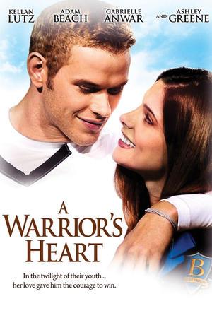 "Poster art for ""A Warrior's Heart."""