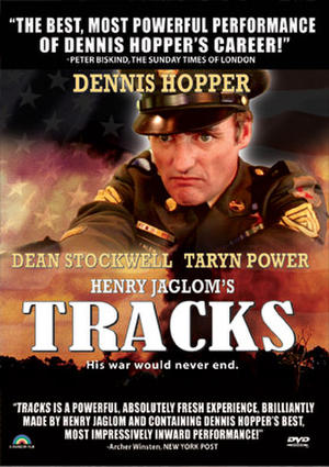 """Poster art for """"Tracks."""""""
