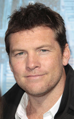"Sam Worthington at the California premiere of ""Man on a Ledge."""