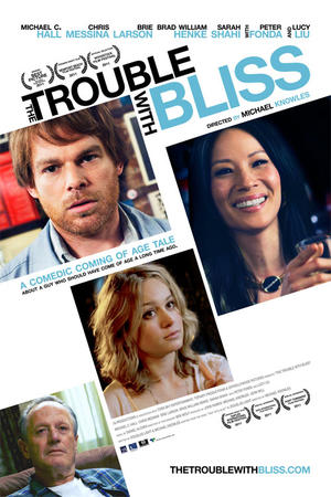 """Poster art for """"The Trouble with Bliss."""""""