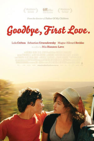 "Poster art for ""Goodbye First Love."""