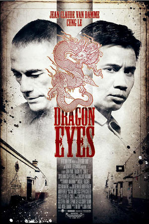 "Poster art for ""Dragon Eyes."""