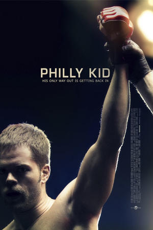 "Poster art for ""The Phily Kid."""