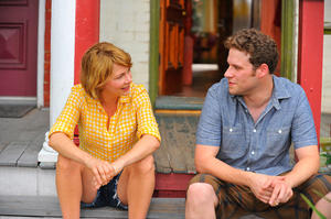 "Michelle Williams and Seth Rogen in ""Take This Waltz."""