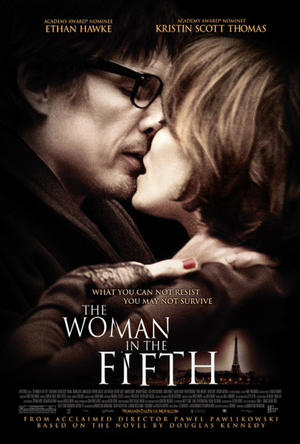 "Poster art for ""The Woman in the Fifth."""