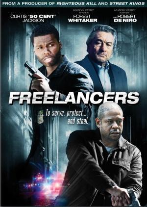 "Poster art for ""Freelancers."""