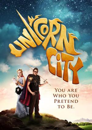 """Poster art for """"Unicorn City."""""""