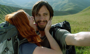 "Hani Furstenberg and Gael Garcia Bernal in ""The Loneliest Planet."""