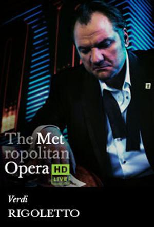 "Poster art for ""The Metropolitan Opera: Rigoletto."""