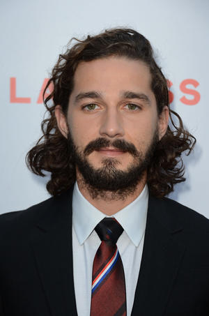 """Shia LaBeouf at the California premiere of """"Lawless."""""""