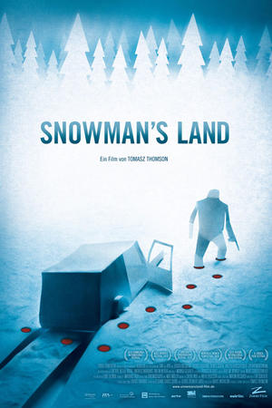 "Poster art for ""Snowman's Land."""