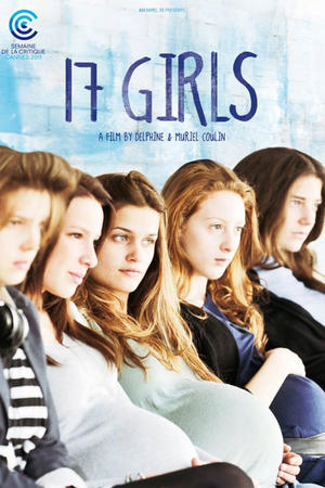 """Poster art for """"17 Girls."""""""