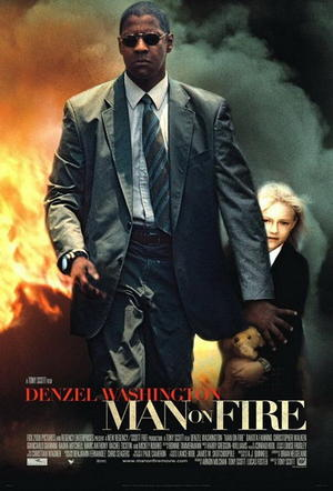 """Poster art for """"Man on Fire."""""""
