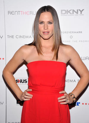 "Jennifer Garner at the New York premiere of ""Butter."""
