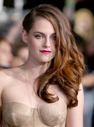 "Kristen Stewart at the California premiere of ""The Twilight Saga: Breaking Dawn - Part 2."""