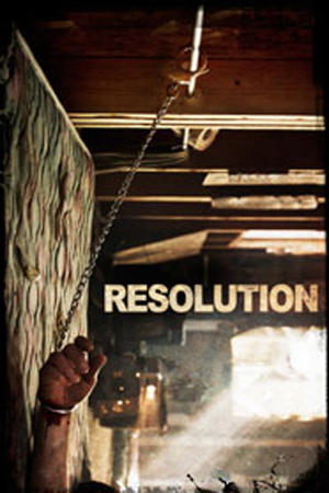 "Poster art for ""Resolution."""