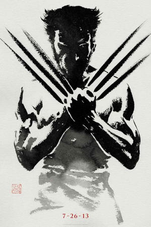 "Poster art for ""The Wolverine 3D."""