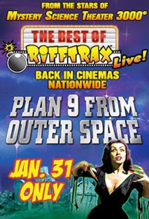 "Poster art for ""The Best of RiffTrax Live: Plan 9 From Outer Space."""