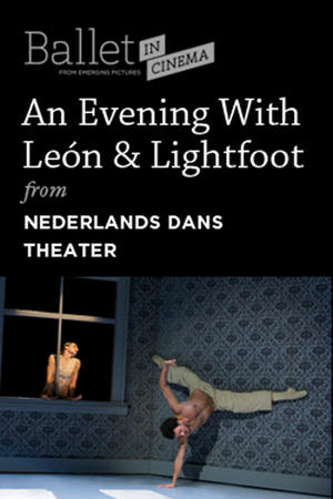 "Poster art for ""An Evening with Sol León and Paul Lightfoot."""