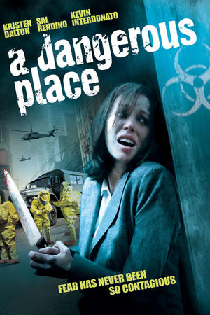 "Poster art for ""A Dangerous Place."""