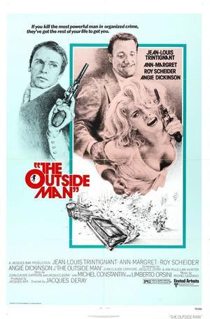 "Poster art for ""The Outside Man."""