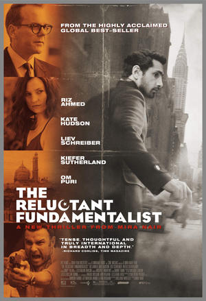 "Poster art for ""The Reluctant Fundamentalist."""