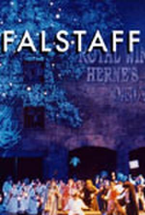 "Poster art for ""Falstaff."""