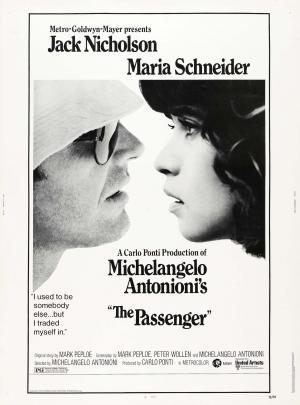 """Poster art for """"The Passenger."""""""