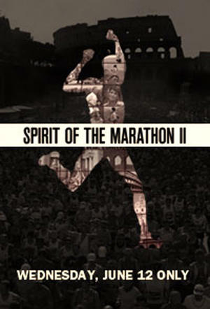 "Poster art for ""Spirit of Marathon II."""