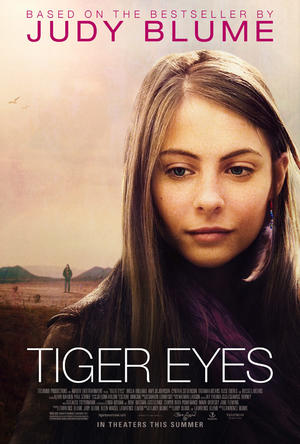 "Poster art for ""Tiger Eyes."""