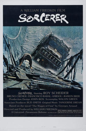 "Poster art for ""Sorcerer."""